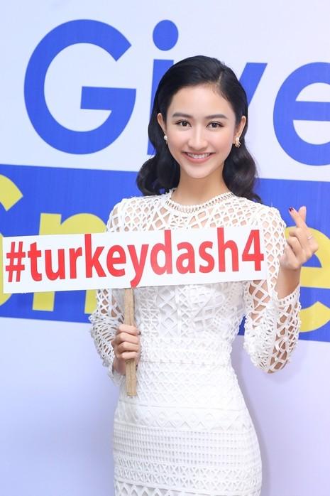 Hoa hậu Hương Giang rạng rỡ đồng hành cùng Turkey Dash  - ảnh 7
