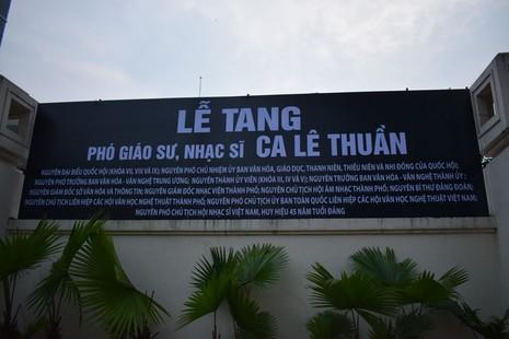 Bí thư Thăng đến viếng PGS-nhạc sỹ Ca Lê Thuần - ảnh 13