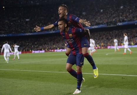 Barcelona thắng PSG 2-0: Neymar có cú đúp nhưng ngôi sao là Iniesta - ảnh 4