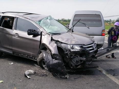 Hiện trường vụ tai nạn - Ảnh: Nhật Duy