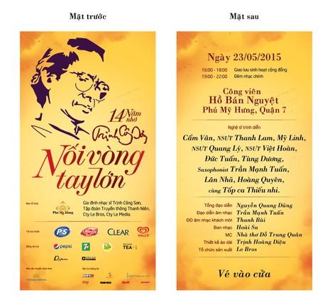 Thêm cơ hội nhận vé miễn phí xem nhạc Trịnh - ảnh 1