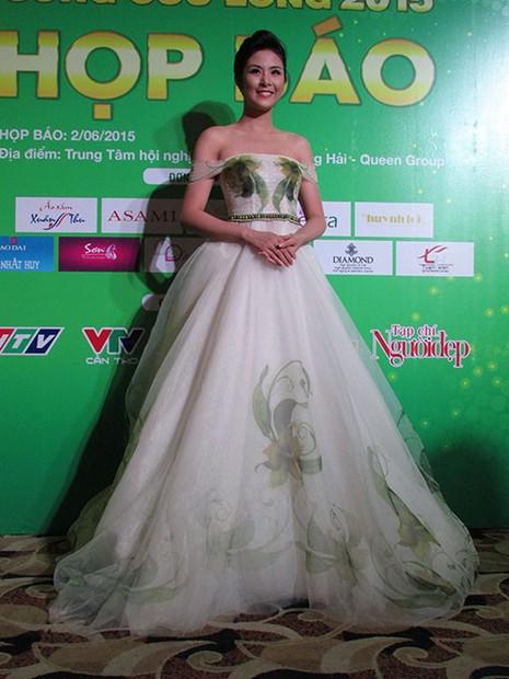 Hoa hậu Ngọc Hân đọ sắc với HH Thu Thảo và á hậu Huyền My - ảnh 3