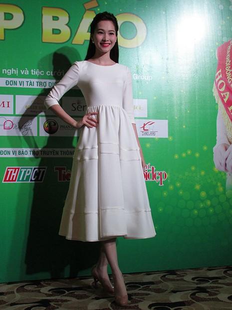 Hoa hậu Ngọc Hân đọ sắc với HH Thu Thảo và á hậu Huyền My - ảnh 4