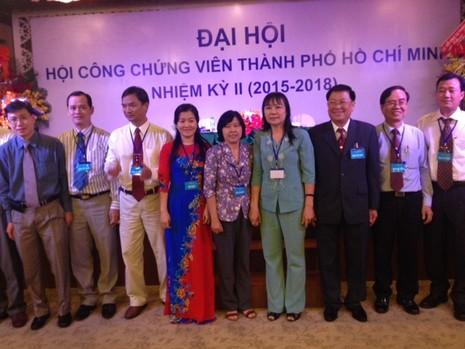 Bà Ngô Minh Hồng làm Chủ tịch Hội công chứng viên TP.HCM - ảnh 1