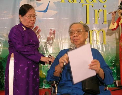 Tình huynh nghĩa muội của GS Trần Văn Khê và nữ sĩ Hỷ Khương  - ảnh 1