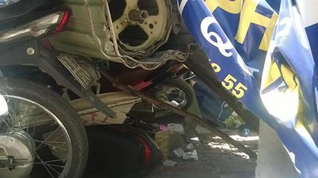 Tài xế xe buýt ngủ gật gây tai nạn ? - ảnh 3