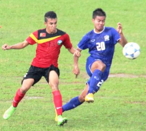 Giải U-16 Đông Nam Á: Đi trong...mưa bão - ảnh 1