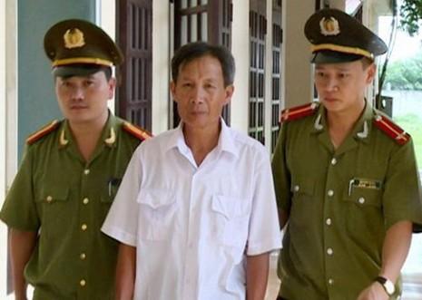 Đinh Tất Thắng vừa bị Công an Thanh Hóa khởi tố, bắt tạm giam 3 tháng - Ảnh: CA Thanh Hóa cung cấp