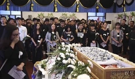 diễn viên, bị sát hại, đám tang