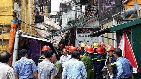 Chùm ảnh vụ sập tòa biệt thự kiểu Pháp  ở Hà Nội - ảnh 7