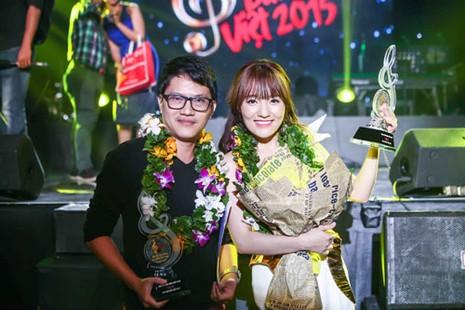 'Về với đông' giúp Nhật Thủy đoạt cú đúp Bài hát Việt - ảnh 1
