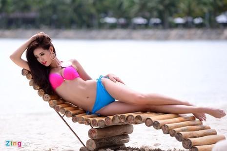 Phạm Thị Hương lên ngôi Hoa hậu Hoàn vũ 2015 - ảnh 28