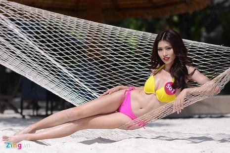 Phạm Thị Hương lên ngôi Hoa hậu Hoàn vũ 2015 - ảnh 33