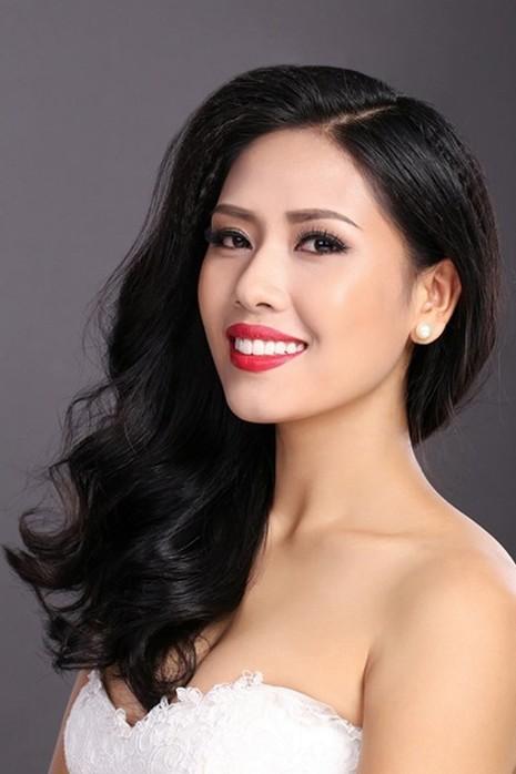 Á hậu Nguyễn Thị Loan lại đi thi Hoa hậu Hoàn vũ VN - 1