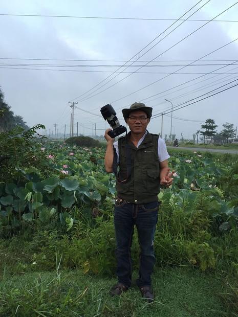 Nghệ sĩ Xuân Anh 'hành phương Bắc' với 60 bức ảnh sen - ảnh 4