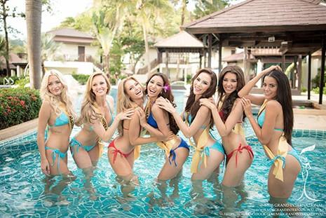 Lệ Quyên tự tin diễn bikini trên đất Thái - ảnh 5