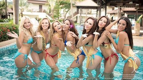 Lệ Quyên tự tin diễn bikini trên đất Thái - ảnh 4