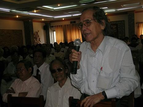 Vĩnh biệt Nhà giáo Nhân dân, nhà văn Trần Thanh Đạm - ảnh 1
