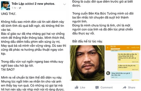 Nhạc sĩ Trần Lập bình tĩnh đối mặt bệnh ung thư