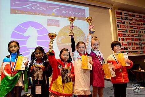 Cẩm Hiền lên ngôi vô địch trẻ cờ vua thế giới - ảnh 1