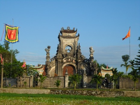 Phủ thờ hơn 400 năm của dòng họ Nguyễn Cảnh - ảnh 1