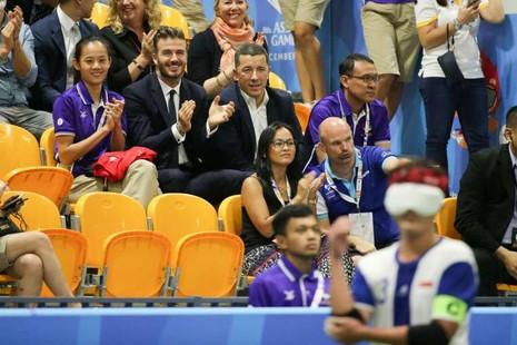 Beckham đến thăm ASEAN Para Games - ảnh 1