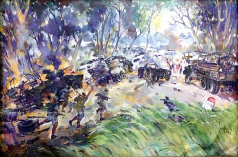 Tranh của họa sĩ Huỳnh Phương Đông