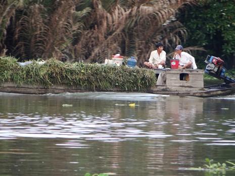 Nhiễm mặn đe dọa nguồn nước uống ở Sài Gòn - ảnh 1