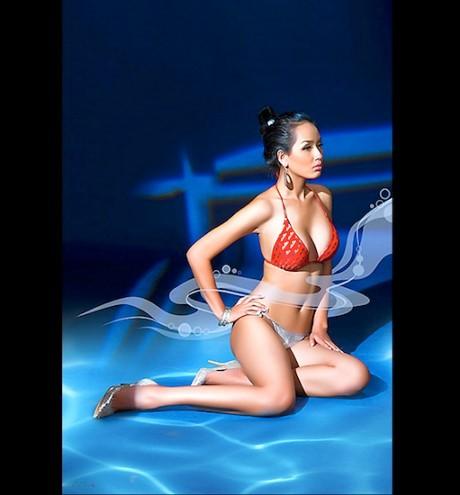 Ảnh bikini sau đăng quang của Hoa hậu Kỳ Duyên, Mai Phương Thúy