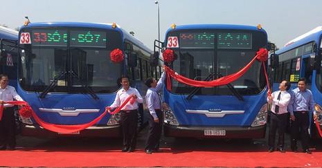 TP.HCM: Chuyển đổi mạnh sang dùng xe buýt nhiên liệu sạch CNG - ảnh 1