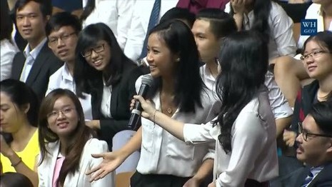 Tong thong Obama de nghi Suboi doc rap bang tieng Viet hinh anh 1
