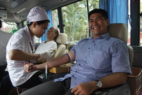 Sở Tư pháp TP.HCM tham gia hiến máu nhân đạo - ảnh 5