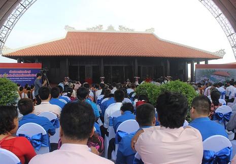Khánh thành đền thờ Lễ Thành hầu Nguyễn Hữu Cảnh - ảnh 7