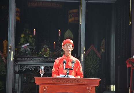 Khánh thành đền thờ Lễ Thành hầu Nguyễn Hữu Cảnh - ảnh 2