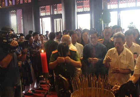 Khánh thành đền thờ Lễ Thành hầu Nguyễn Hữu Cảnh - ảnh 4