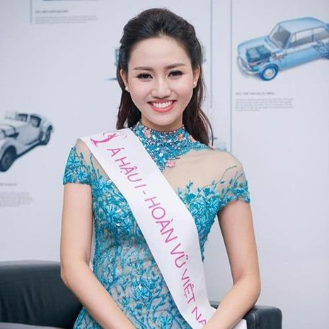 Thanh Tú có nét giống chị ruột mình Á hậu Hoa hậu Hoàn vũ Ngô Trà My