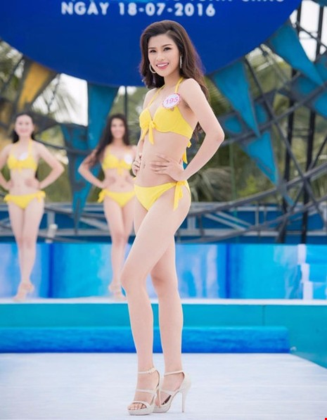 Nguyễn Thị Thành cao 1,71 m, số đo ba vòng 80-63-87