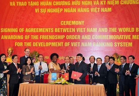 WB ký khoản vay 371 triệu USD cho Việt Nam - ảnh 1