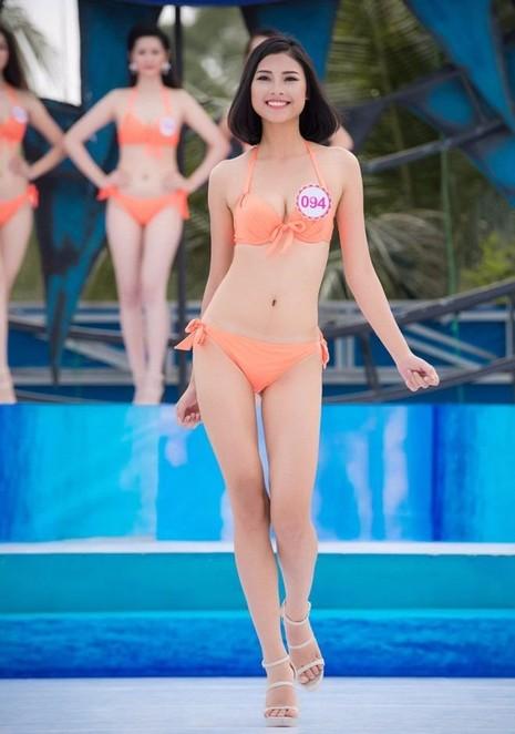 Đào Thị Hà thi Người đẹp Biển tại Hoa hậu Việt Nam 2016