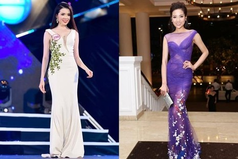 Thúy Vi giống chị em với Hoa hậu Việt Nam 2014 Nguyễn Cao Kỳ Duyên