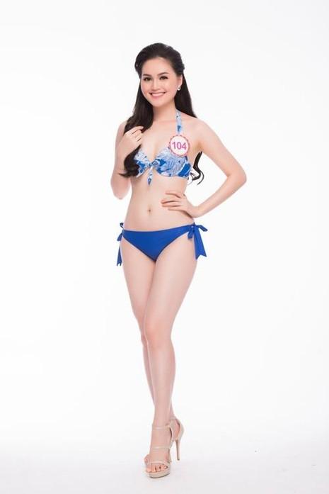 Trần Thị Thu Hiền tại cuộc thi Hoa hậu Việt Nam 2016