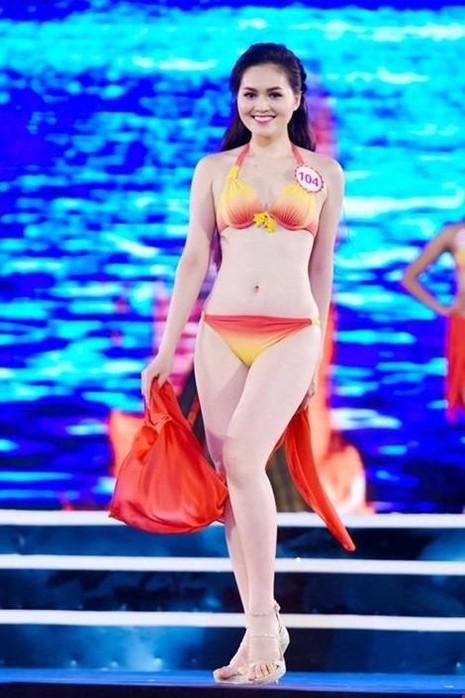 Trần Thị Thu Hiền (còn có tên gọi khác Hye Trần), cô cao 1m68, nặng 52 kg