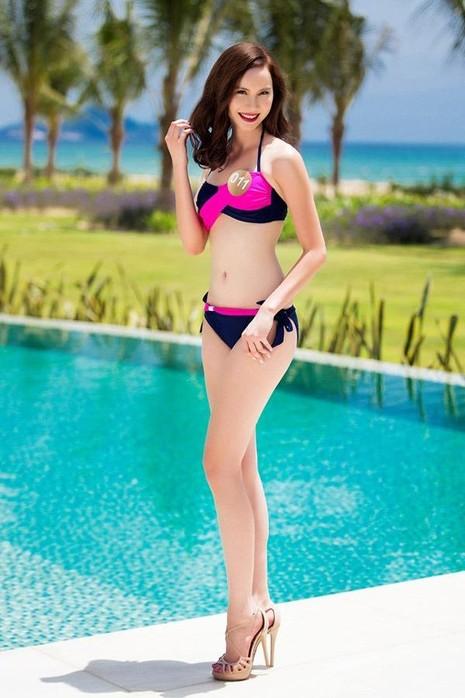 Hồ Thị Thu Phượng đến từ Đồng Nai, tốt nghiệp cấp 3 tại California, đang là du học sinh chuyên ngành Y khoa tại Mỹ. Cô cao 1,7m, số đo 3 vòng 84-63-93