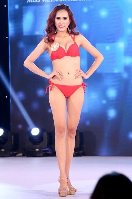 Phạm Hồ Phương Ngân, đến từ Bến Tre. Cô cao 1m73, cân nặng 58kg, số đo 3 vòng: 85-63-92