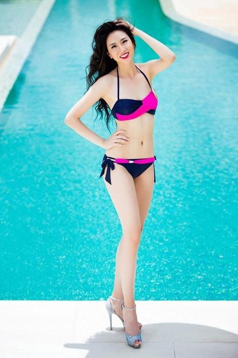 Teresa Trần (sinh năm 1997) nằm trong số thí sinh có chiều cao nổi bật - 1,75m, số đo 81-62-91. Cô được so sánh với hoa hậu Trương Tử Lâm bởi vóc dáng mảnh mai, gương mặt tươi sáng