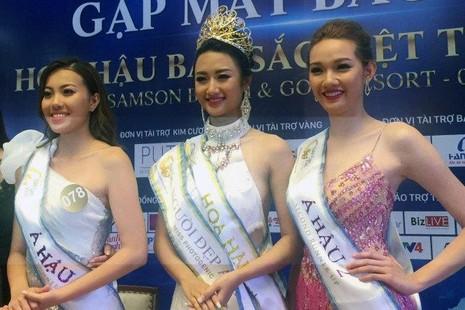 3 người đẹp nhất cuộc thi