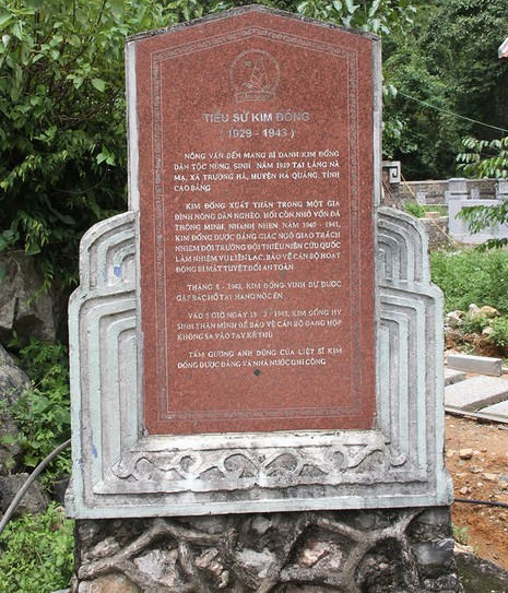 Về thăm nơi mẹ con anh Kim Đồng yên nghỉ - ảnh 4