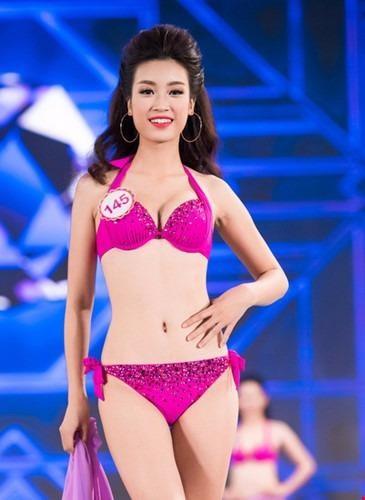 Tân Hoa hậu Đỗ Mỹ Linh cao 171 cm, nặng 52 kg, số đo ba vòng 87-61-94