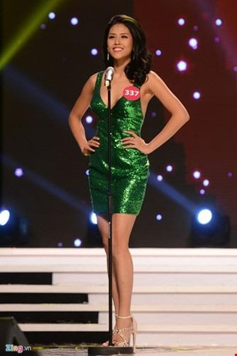 Hoa hậu Nguyễn Thị Loan mặc dù lọt vào Top 25 Hoa hậu Thế giới 2014