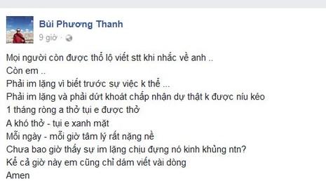 Ca sĩ Minh Thuận qua đời, Phương Thanh